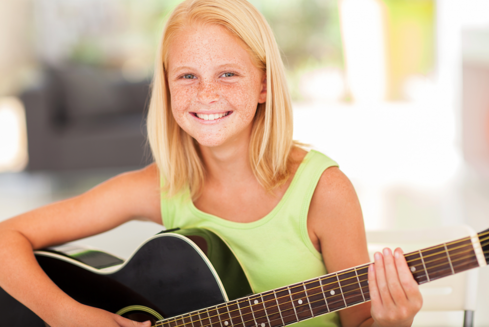 The music school for guitar, electric guitar, electric bass and ukulele